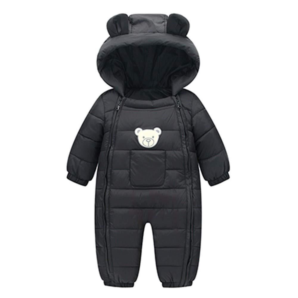 BaZhaHei Bambini, Abbigliamento Neonato 0-3 3-6 6-9 12-18 Mesi Completo Ragazza 2018 Bambini Abiti Ragazza Autunno Neonato Ragazzi Ragazze Bambini Rompers Inverno Spessore Cotone Caldo Vestiti Tuta