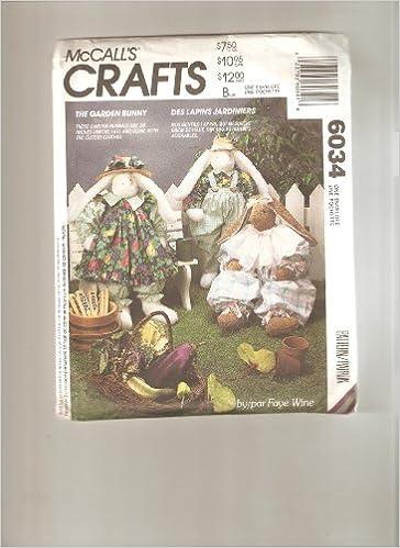 Book McCall's pattern 6034 *crafts