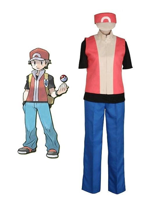 Pokemon Ash Ketchum Guoqueen 2nd Generation traje de Cosplay ...