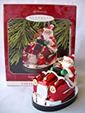 1998 Hallmark Ornament Santa's Bumper Car # 20 Here Comes Santa Series