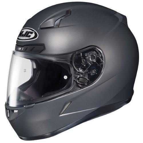 HJC 824-585 CL-17 Full-Face Motorcycle Helmet (Matte Anthracite, (Hjc Full Face Helmets)