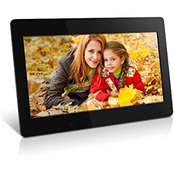 Amazon.com : Aluratek (ADPF07SF) 7 Inch Digital Photo Frame - Black ...