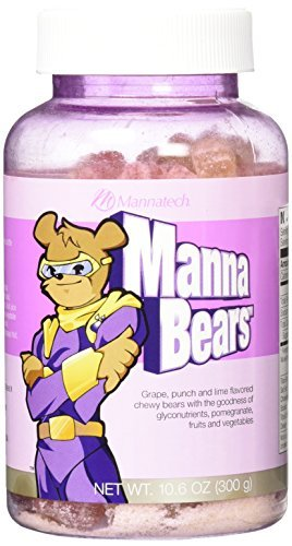 Mannatech Mannabears, the Sweetest Way to Provide Your Kids Antioxidant Protection by Mannatech