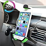 Universal 360° drehbare Handyhalterung Lüftung KFZ Auto Halter Lüfterhalterung für Ihr iPhone, Navi, Samsung Galaxy/Note, HTC, Nokia Lumia oder andere Amdroid Smartphones