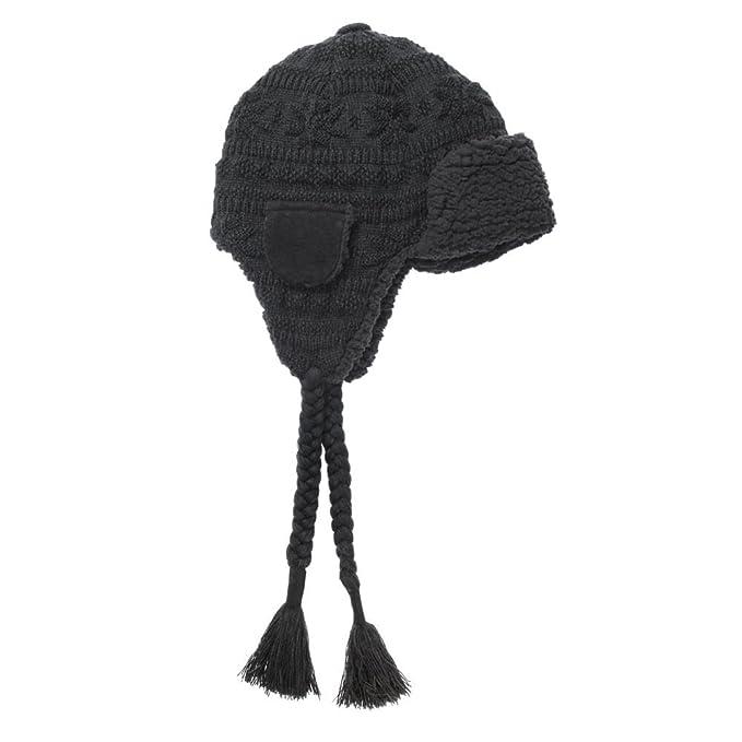 64dc52ca864b1 Men s MUK LUKS Fairisle Knit Trapper Hat  Amazon.in  Clothing ...