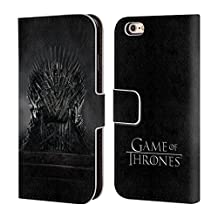 Official HBO Game Of Thrones Iron Throne Key Art Leather Book Wallet Case Cover For Apple iPhone 6 / 6s