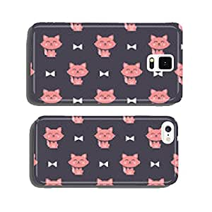 cats and ribbons pattern cell phone cover case iPhone5