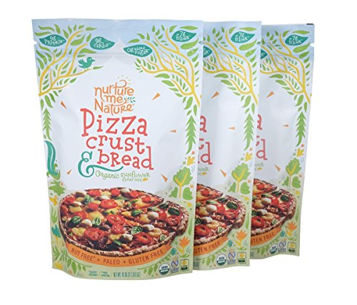 Paleo, Nut & Gluten Free Pizza & Bread Baking Mix / USDA Organic (Pack of 3)