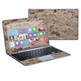 """Mightyskins Protective Skin Decal Cover for Samsung ATIV Smart PC Pro 500T Tablet & Keyboard with 11.6"""" screen wrap sticker skins Desert Camo"""