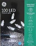 GE 100 LED Miniature Lights - Pure White