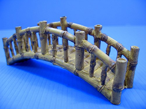 Dr. Moss Bamboo Bridge Aquarium Ornament - Decoration fish tank