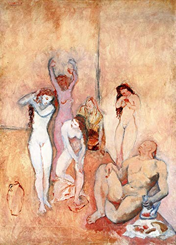 Pablo Picasso The Harem 1906 Cleveland Museum of Art 30