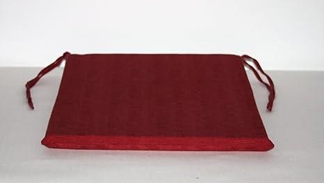 Arketicom pacco da cuscini artigianali per sedie quadrati misto