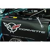 Chevrolet Corvette C5 Logo Black Grip Fender Cover