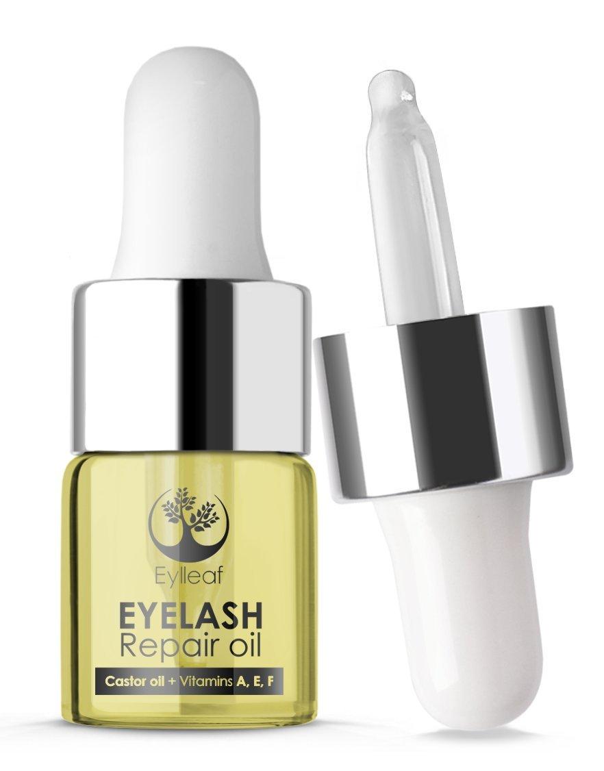 Eylleaf XXL Eyelash Growth Serum 6ml with Advanced Formula - Eyelash Serum, Eyelash Enhancer for Natural Long Lashes (Advanced Serum 6 ml)