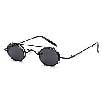 Amazon.com: CCGSDJ - Gafas de sol pequeñas redondas ...