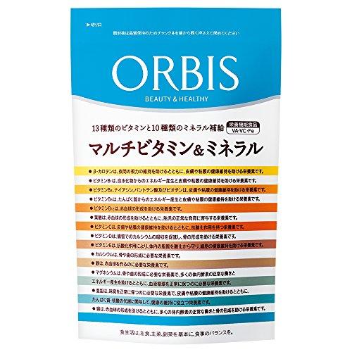 本質的に支配する密輸オルビス(ORBIS) マルチビタミン&ミネラル 30日分(300mg×120粒) ◎ベースサプリメント◎