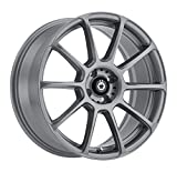 Konig RUNLITE Matte Grey Wheel (17x7.5''/4x100mm, +45mm offset)