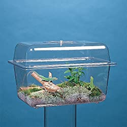 Aquarium/Terrarium, Plastic, Without Cover, 1 1/2 gal