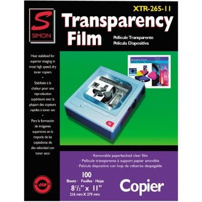 Simon Plain Paper Copier Transparency Film