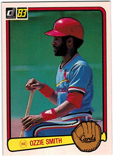 (1983 Donruss St. Louis Cardinals Team Set with Willie McGee RC & Ozzie Smith - 25 Cards)