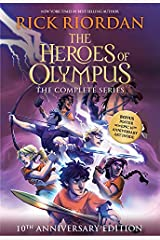 The Heroes of Olympus Paperback Boxed Set (10th Anniversary Edition) Paperback