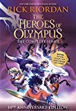 The Heroes of Olympus Paperback Boxed Set (10th Anniversary Edition)