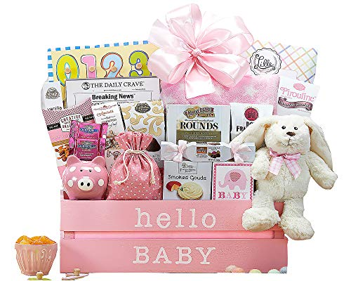 Wine Country Gift Baskets Welcome Home Baby Girl for $<!--$74.95-->