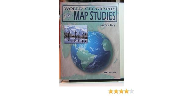 World geography map studies teacher key amazon books gumiabroncs Gallery