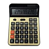 ZHAS Professional Electronic Calculator,14 Digits Desktop Calculator, Office Financial Computing Supplies