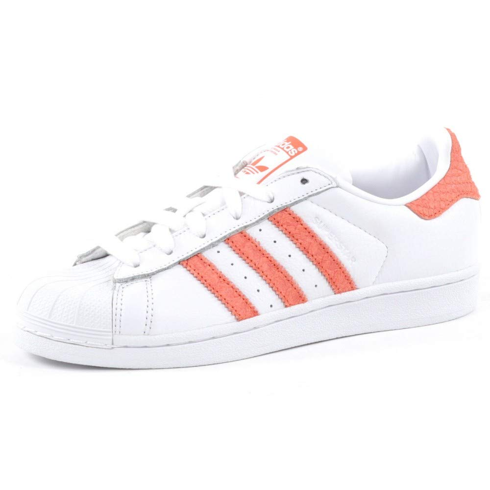 Adidas Superstar W Schuhe FTWR Weiß Chalk Coral