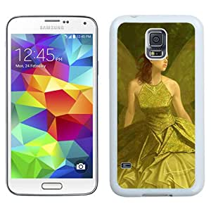 Beautiful And Unique Designed With Girl Elf Wings Dress Grief (2) For Samsung Galaxy S5 I9600 G900a G900v G900p G900t G900w Phone Case