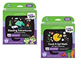 LeapFrog LeapStart Level 3 Kindergarten Book Bundle with Reading Adventures and Cook It Up! Math
