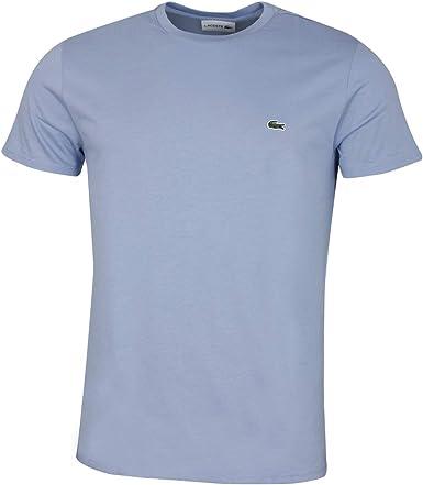 Lacoste - Camiseta para hombre Morado Purpy. 5 - L: Amazon.es: Ropa y accesorios