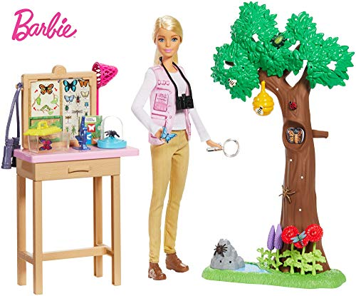 Barbie Entomologist Playset is one of the latest Christmas toys for girls