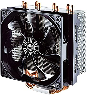 INTEL//AMD with AM4 T4 CPU Cooler with 4 Direct Contact Heatpipes RR-T4-18PK-R1