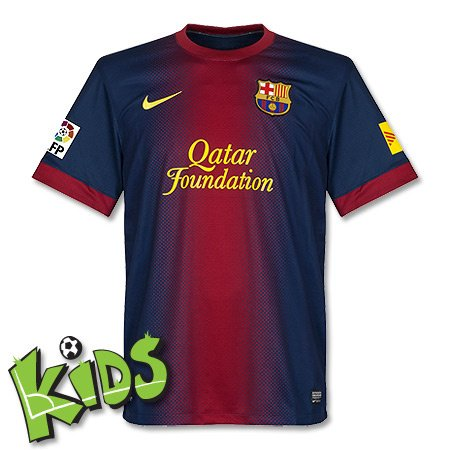 2012-13 Barcelona Nike Home Football Shirt (Kids)
