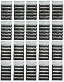 Atra Plus Refill Razor Blade Cartridges, Bulk Packaging (100 Count)
