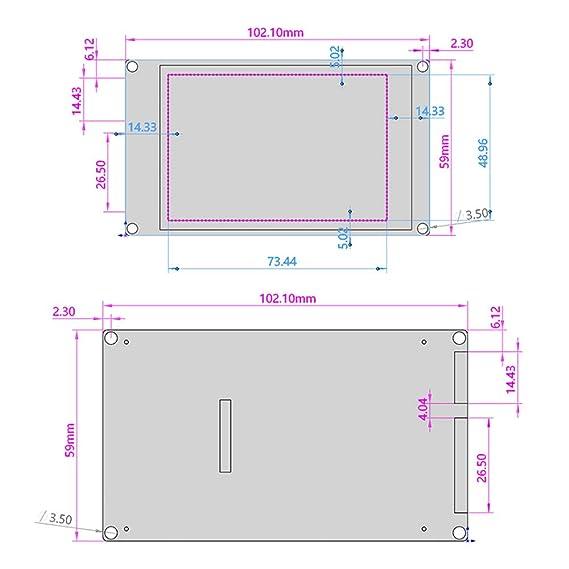 Aibecy Accesorios de impresora 3D Pantalla táctil a todo color de ...