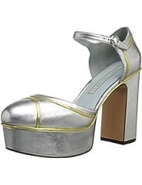 ca3489b5ce1 Amazon.com  Platform Block Heels  Clothing