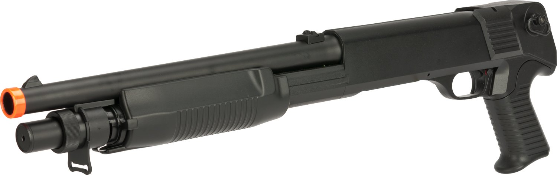 Evike - CYMA M3 3-Round Burst Multi-Shot Shell Loading Airsoft Shotgun (Model: Short) by Evike