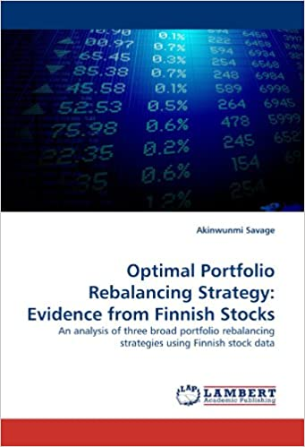 Optimal Portfolio Rebalancing Strategy: Evidence from Finnish Stocks: An analysis of three broad portfolio rebalancing strategies using Finnish stock data