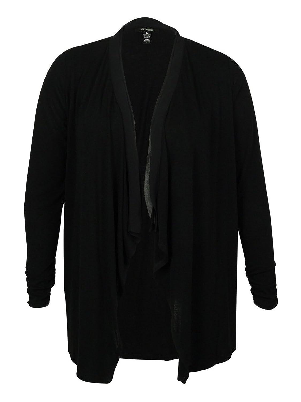 Style & Co Women's Sheer Trim Cardigan