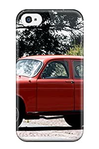 Durable Protector Case Cover With Alfa Romeo Giulietta 40 Hot Design For Iphone 4/4s