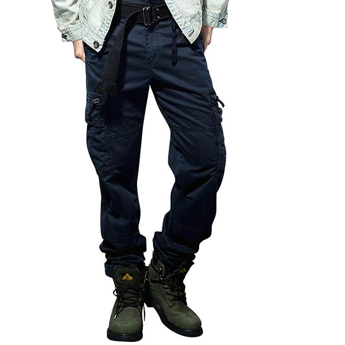 Vintage Pantalone Pantaloni Cargo Xinwcang Militare Uomo wOtqRCf