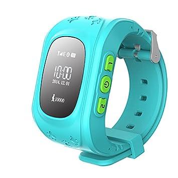 Prixton - Reloj Inteligente Localizador para Niños con GPS Watchii, color Azul