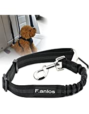 Cane Cintura Di Sicurezza Auto, Auto Cintura Sicurezza per Cani, Cintura Di Sicurezza Auto Regolabile Per Cane, Cani Guinzaglio in Materiale Nylon Stabile per Pet Dog Cat con Lunghezza di 53-74cm