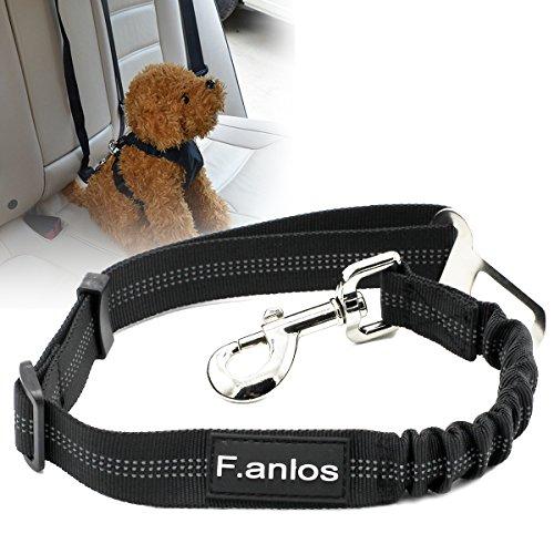 Cane Cintura Di Sicurezza Auto, Auto Cintura Sicurezza per Cani, Cintura Di Sicurezza Auto Regolabile Per Cane, Cani Guinzaglio in Materiale Nylon Stabile per Pet Dog Cat con Lunghezza di 53-74cm