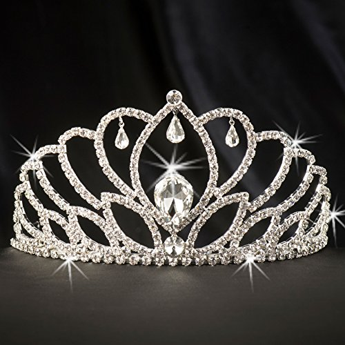 Shindigz Silver Juliette Tiara Princess Queen Crown