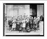 Historic Print (L): Birdhouse Group